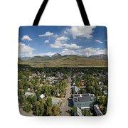 September Skies Over Crested Butte Tote Bag