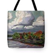 September Sky 2012 Tote Bag