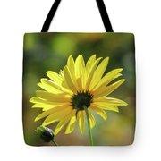 September Sunny Daisy Tote Bag