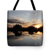 September Sunset In Prosser Tote Bag