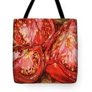 September Tomatoes Tote Bag