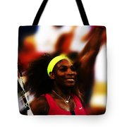 Serena Williams Another Record Set Tote Bag