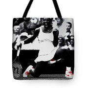 Serena Williams Victory Tote Bag by Brian Reaves