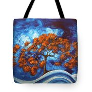 Serendipitous Original Madart Painting Tote Bag