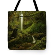 Serendipity At Cloudyforest Tote Bag