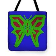 Serendipity Butterflies Blueredgreen 6of15 Tote Bag