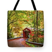 Serendipity - Painted 2 Tote Bag