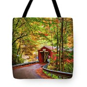 Serendipity Painted Tote Bag