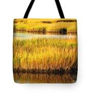 Serene Grasses Tote Bag
