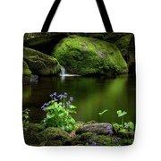 Serene Green Tote Bag