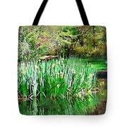 Serene Iris Tote Bag
