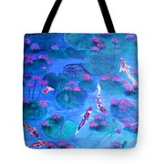 Serene Pond Tote Bag