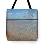 Serene Tidal Pool By The Sea Tote Bag