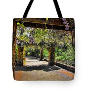Serene Walkway  Tote Bag