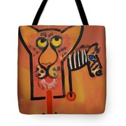 Serengeti Cat Tote Bag