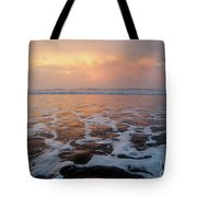 Serenity At The Sea Tote Bag
