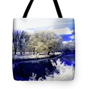 Serenity Bridge Tote Bag