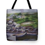 Serenity Of Waterside Tote Bag