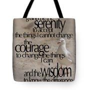 Serenity Prayer 01 Tote Bag