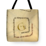 Serenity Prayer II Tote Bag by Judy Dodds