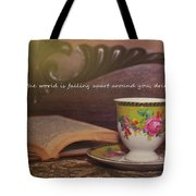 Serenity Quote Tote Bag