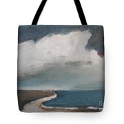Serenity Under Clouds Tote Bag