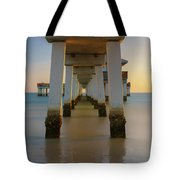 Serenity Under The Pier Tote Bag