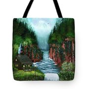 Serenity Valley Tote Bag