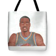 Serge Ibaka Tote Bag by Toni Jaso