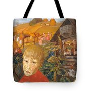 Sergei Esenin 1895-1925 As A Youth, Boris Grigoriev Tote Bag