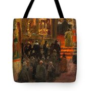 Sergey Dmitrievich Miloradovich Russian 1851-1943 Uspenskiy Cathedral, 1917 Tote Bag