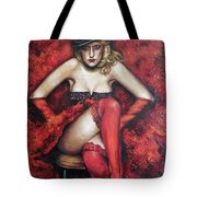 Series Fortune. Welcome To Burlesq.  Tote Bag