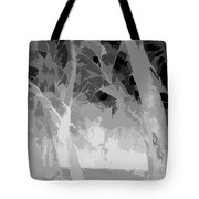 Series Of Black And White 46 Tote Bag