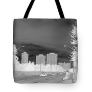 Series Of Black And White 48 Tote Bag