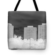 Series Of Black And White 49 Tote Bag