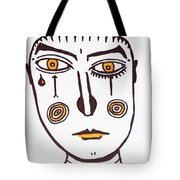 Serious Cry  Tote Bag