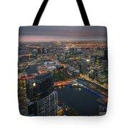 Serious Sunset Tote Bag