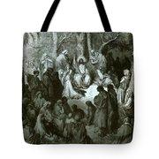 Sermon On The Mount Tote Bag