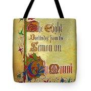 Sermon5 Tote Bag