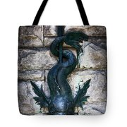 Serpent Fountain Tote Bag by Doug Sturgess