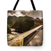 Serpentine River Crossing Tote Bag