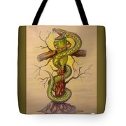 Serpent's Law Tote Bag