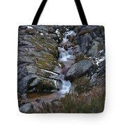 Serra Da Estrela Mountains And Waterfall Tote Bag