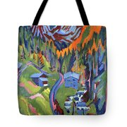 Sertig Path In Summer Tote Bag