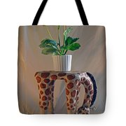 Servant Giraffe Tote Bag