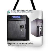 Server Rental Dubai,dedicated Servers For Rent In Dubai Tote Bag