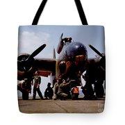 Servicing An A-20 Bomber Langley Field Va Tote Bag