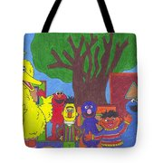 Children's Characters Tote Bag