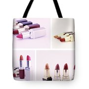 Set Of Lipsticks For Woman Beauty Tote Bag