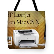 Set Up Hp Laserjet 1020 Drivers On Mac Os X Tote Bag